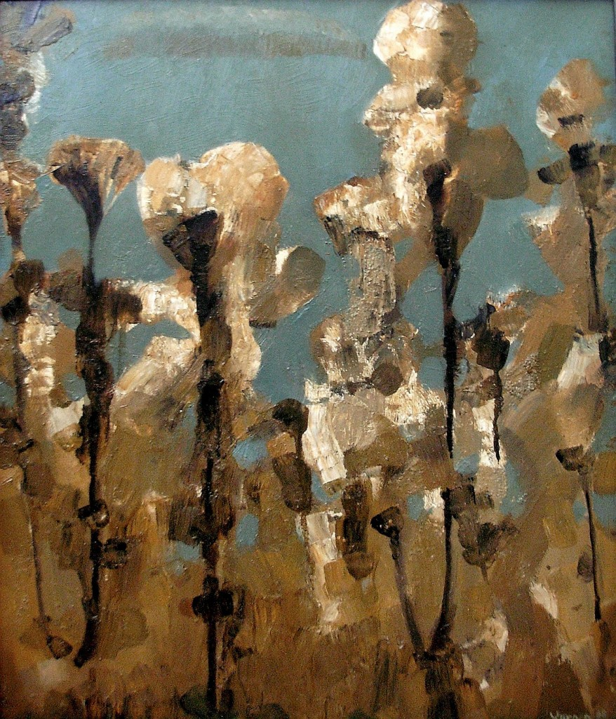 """Flowers"" 2008, Oil on canvas, 60X50cm"