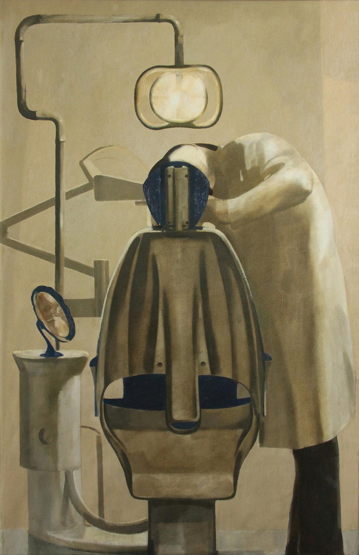 ''Dentist's Shop'' 2007, Oil on Canvas, 143x93 cm