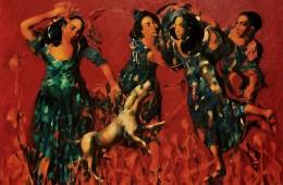 """""""Awakening"""", 2011, Oil on Canvas, 132×190 cm"""