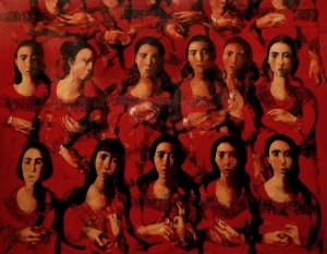''Chorus'', 2012, Oil on Canvs, 140x181 cm