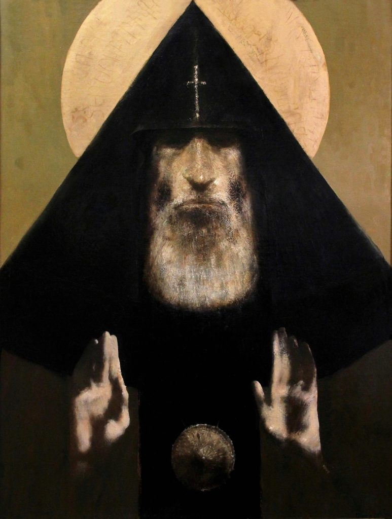 ''Grigor Lusavorich'' 2005 Oil on Canvas 125x95 cm