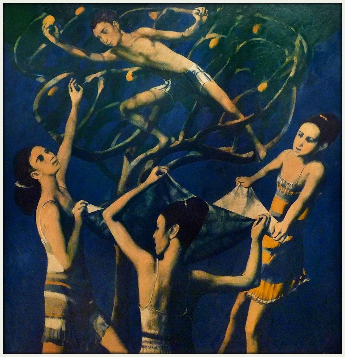 "''Harvest"". 2013, Oil on Canvas, 154x150 cm"