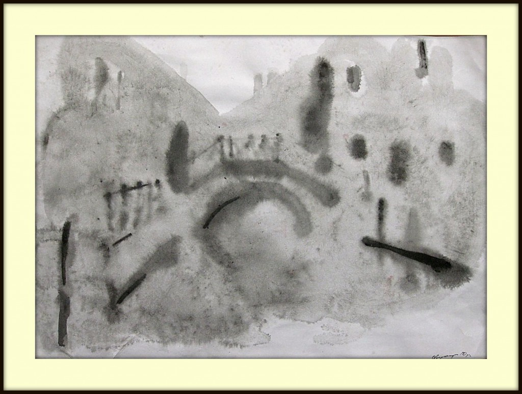 ''Venetian Impressions'' Graphic Serie