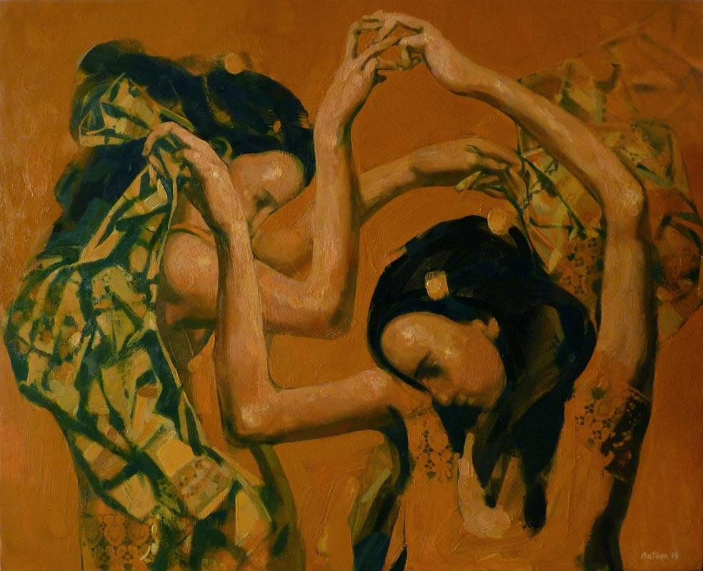 """""""Femininity"""". 2014, Oil on Canvas, 65x80 cm"""