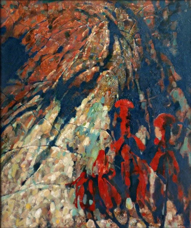 """The mountain"". 2014, Oil on Canvas, 130x90 cm"