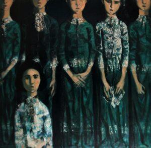 """Voice"". 2015, Oil on Canvas, 151x154 cm"