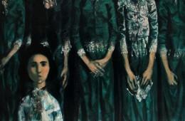 """Voice"". 2015, Oil on Canvas, 151×154 cm"