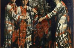 """Messa"". 2015. Oil on Canvas. 151x161cm"