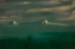 """Ararat. Rainy day"", 2016, Oil on Canvas, 40×50 cm"