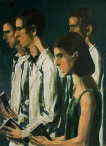''Garoun a''. 2016, Oil on Canvas 97x72 cm