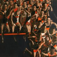 """Barrier"" 2018, Oil on Canvas, 150×160 cm"