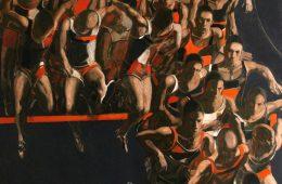 """Barrier"" 2018. Oil on Canvas, 150×160 cm"