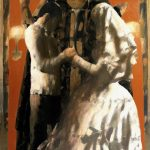 ''Wedding'' 2007 oil on canvas 150x93 cm