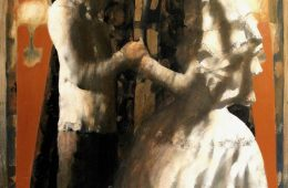 """Wedding"" 2007 oil on canvas 150×93 cm"