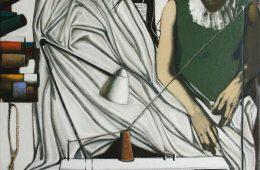 """Atelier"" 2020, Oil on Canvas, 120×80 cm"