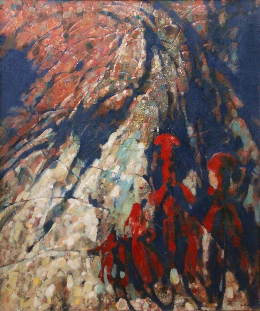 """The mountain"". 2014, Oil on Canvas, 120×90 cm"